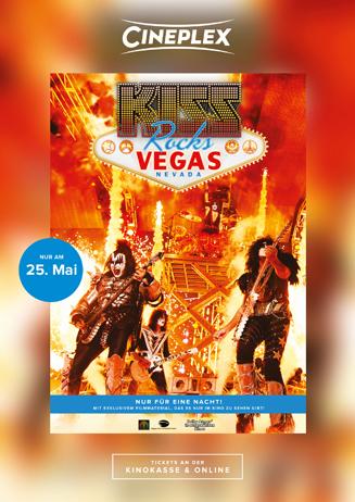 Kiss Rocks Vegas: VVK läuft