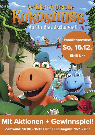"""Familienpreview: """"Der kleine Drache Kokosnuss 2"""""""