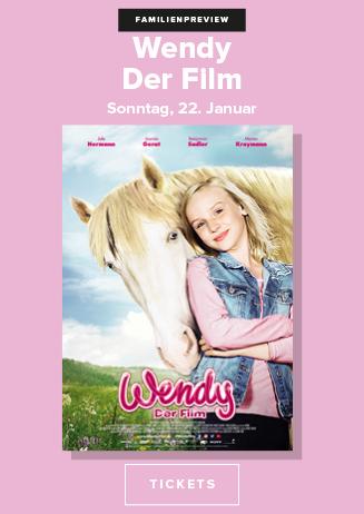 """Familienpreview """"Wendy - Der Film"""""""