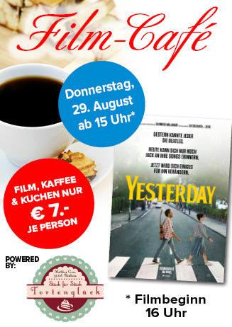 "190829 Film-Café ""Yesterday"""