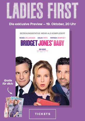 Ladies First Preview BRIDGET JONES' BABY