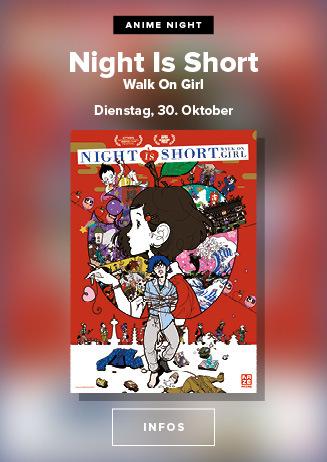 Anime Night: Night Is Short, Walk On Girl