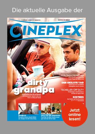 Kinomagazin CINEPLEX jetzt online lesen!