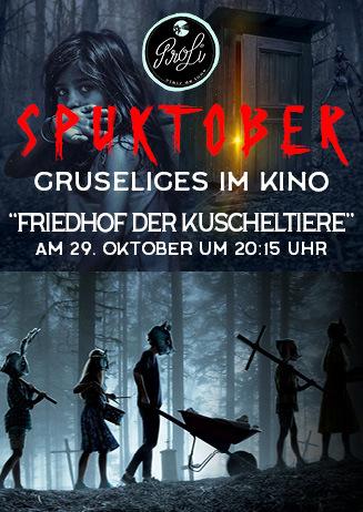 """SPUKTOBER: """"Friedhof der Kuscheltiere"""""""