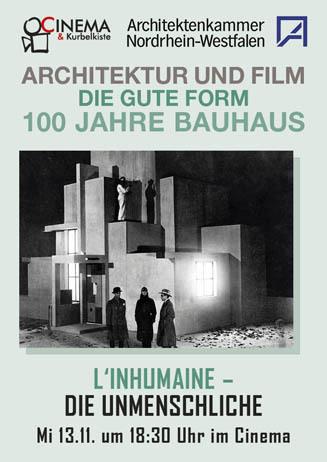 Architektur und Film: L'INHUMAINE