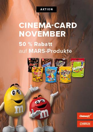 CineMA-Card- Aktion November