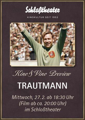 Kino&Vino-Preview: TRAUTMANN