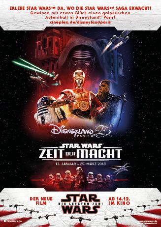 """Reisegewinnspiel: """"Star Wars 8: Die letzten Jedi"""""""