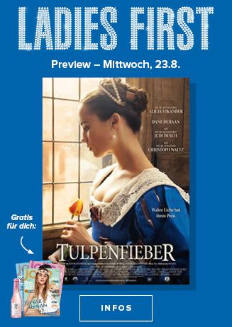 23.08. - Ladies First: Tulpenfieber
