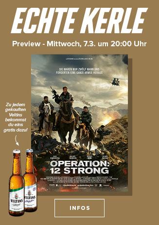 """180307 Echte Kerle """"Operation: 12 Strong"""""""