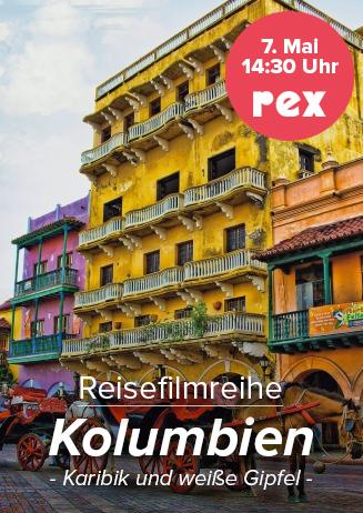 7.05. - Reisefilm: Kolumbien