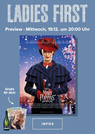 Ladies-First-Preview: Mary Poppins Rückkehr