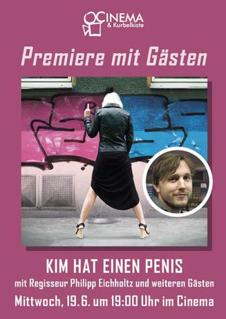 Münster-Premiere mit Gästen: KIM HAT EINEN PENIS