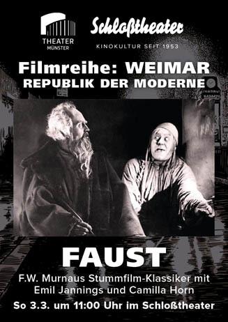 Weimar-Reihe: FAUST
