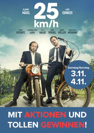 """Aktionen zu """"25 km/h"""""""