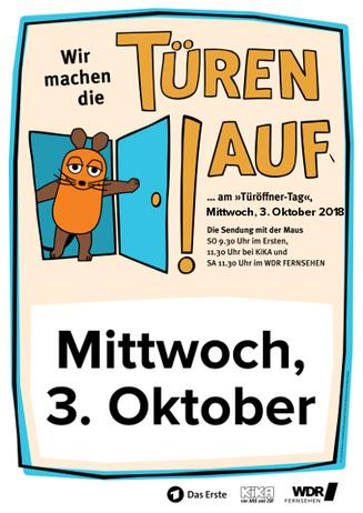 Türöffner-Tag mit der Maus im Cineplex Lippstadt