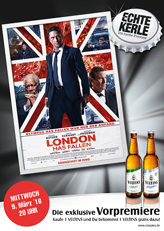 "Echte Kerle Preview "" London has fallen """