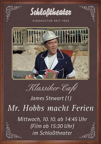Klassiker-Café: MR. HOBBS MACHT FERIEN