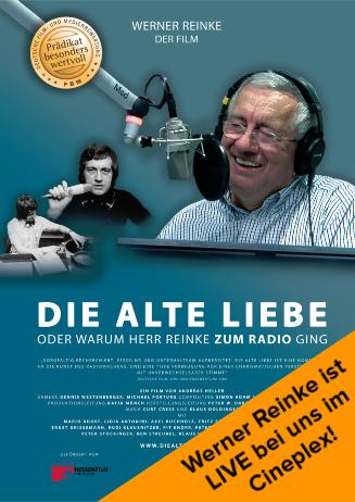 Werner Reinke LIVE im Cineplex