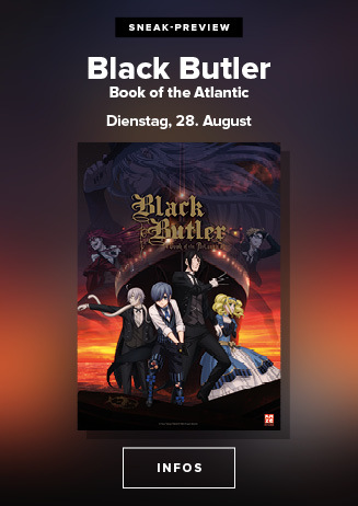 Anime Night: Black Butler - Book of the Atlantic