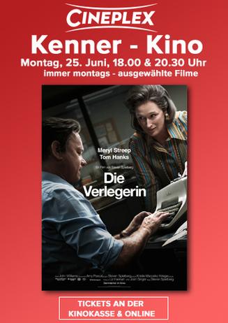 Die Verlegerin: Kenner- Kino