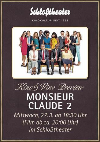 Kino&Vino-Preview: MONSIEUR CLAUDE 2