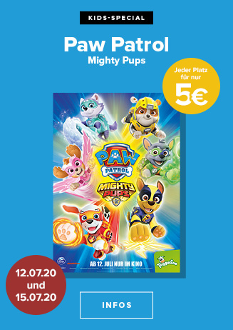 """Kino-Special: """"Paw Patrol: Mighty Pups"""""""