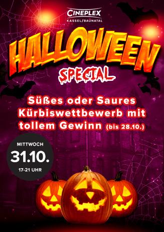 Halloween im Cineplex Baunatal