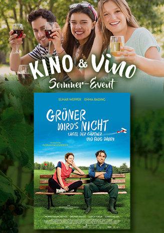 Kino & Vino Sommer-Event: Grüner wird's nicht