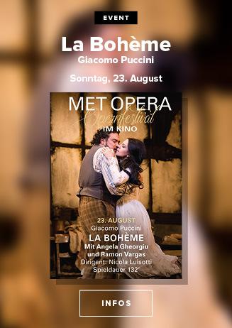 das MET Opernfestival: Puccini LA BOHÈME