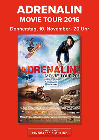 "161110 Special ""Adrenaline Movie Tour 2016"""
