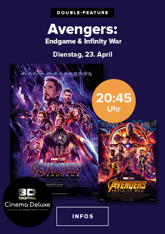"""Double Feature: """"Avengers: Infinity War + Endgame"""""""