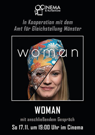 WOMAN mit Gespräch