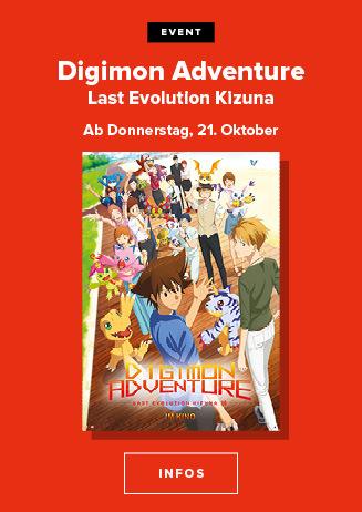 C-Anime: Digimon Adventure: Last Evolution Kizuna 21.10. & 24.10