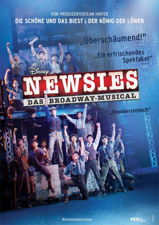 19.02. - Disney Newsies: Das Broadway Musical VVK