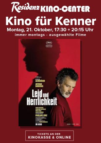Kino für Kenner: LEID UND HERRLICHKEIT