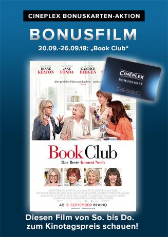 """Bonusfilm: """"Book Club - Das Beste kommt noch"""""""