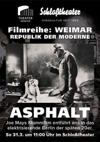 Weimar-Reihe: ASPHALT