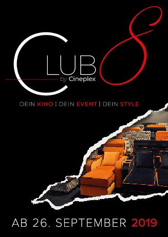 Club 8 - Ab dem 26.09. im Capitol!