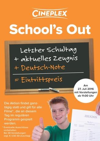 School's Out - Endlich Ferien!