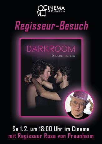 DARKROOM mit Rosa von Praunheim