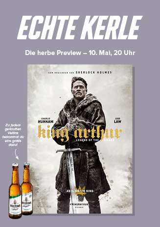 "Echte Kerle: ""King Arthur - Legend of the sword"""