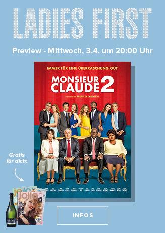 Ladies First: Monsieur Claude 2