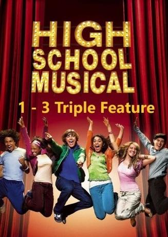 Das High School Musical Triple in Ihrem Cineplex