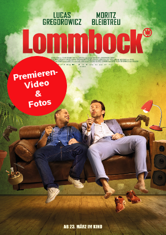 "170331 Video & Fotos ""Lommbock"" Darsteller"