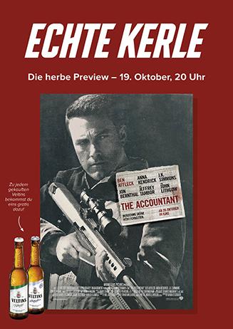"Echte Kerle ""The Accountant"""