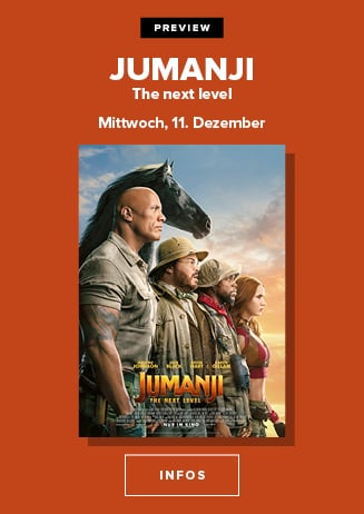 11.12. - Preview: Jumanji: The next Level