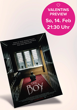 """160214 Valentinspreview """"The Boy"""""""