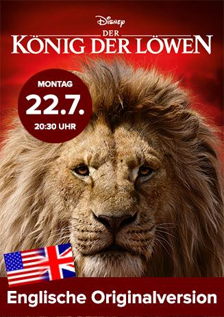 """Englische OV: """"Der König der Löwen"""""""