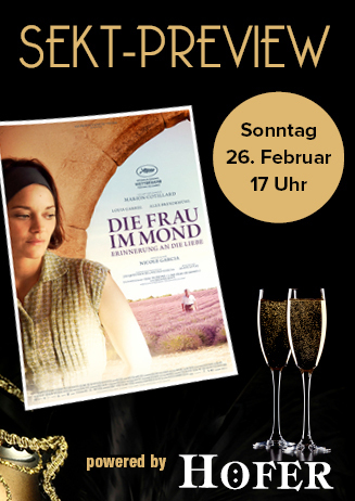 """170226 Sekt-Preview """"Die Frau im Mond - Erinnerung an die Liebe"""""""